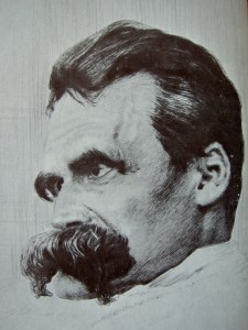 What Nietzsche looked like after nihilism.
